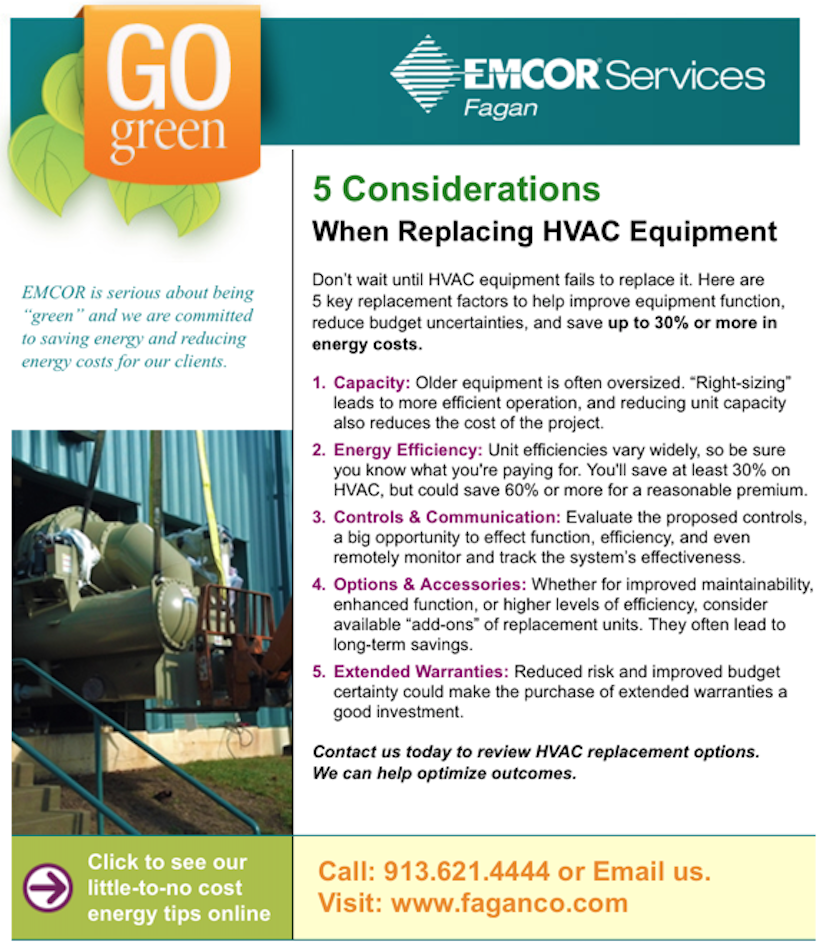 5 Considerations When Replacing HVAC Equipment